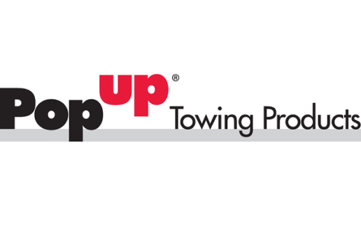 a picture of the PopUp Towing Products logo