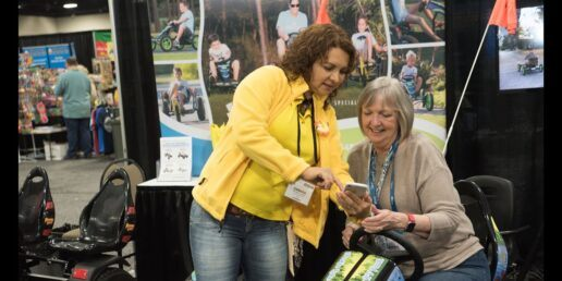 attendees at arvc's ohce outdoor hospitality expo