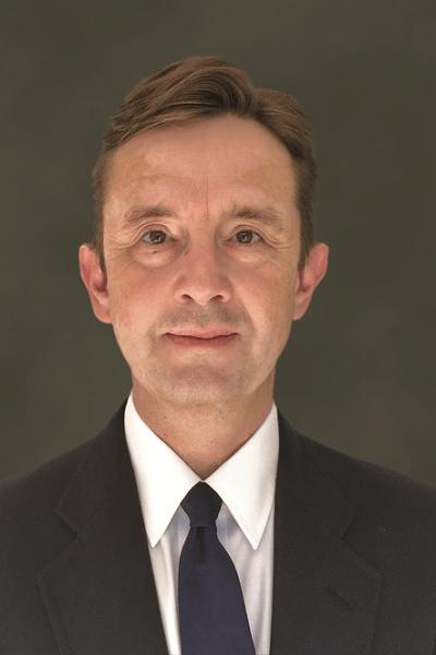 Picture of Hew Bower, President of Winnebago