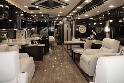interior view of 2021 newmar rv