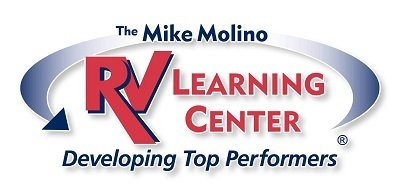 A picture of the Mike Molino RV Learning Center logo