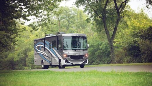 A picture of the 2021 Fleetwood Fortis motor home