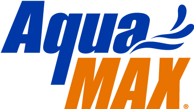 A picture of the AquaMAX logo