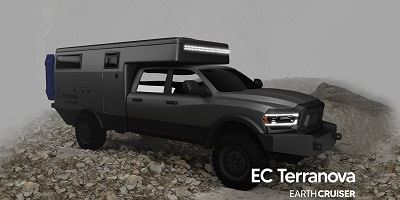 A picture of the Earth Cruiser Terranova Expedition Camper