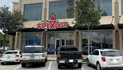 A picture of the Firedisc retail story in Katy, Texas