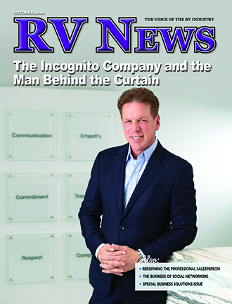 Picture of RV News Magazine's January 2020 front cover