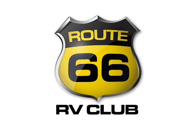 A picture of the Route 66 RV Club logo