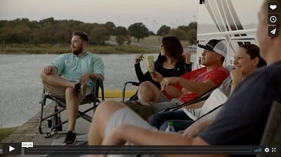 A picture of people in a Coach-Net video