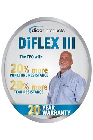 A picture of the Dicor Products Diflex III logo