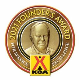 A picture of Kampgrounds of America's Founder's Award
