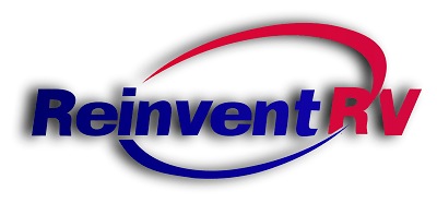A picture of the ReinventRV logo