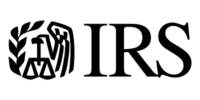 A picture of the IRS logo