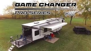 A picture of the ATC Game Changer PRO series toy hauler