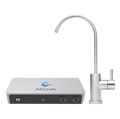 A picture of the Acuva Eco UV water purification system