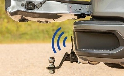 A picture of the CURT vehicle-specific tailgate sensor