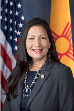 A picture of the Rep. Deb Haaland