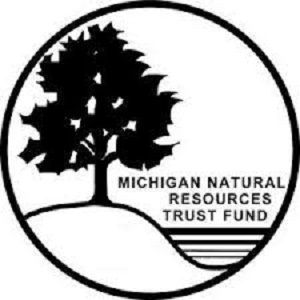 A picture of the Michigan Natural Resources Trust Fund logo