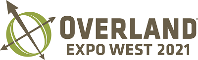 A picture of the Overland Expo West logo