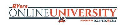 A picture of RVers Online University logo