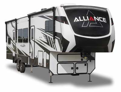 A picture of Alliance RV's Valor Toy Hauler