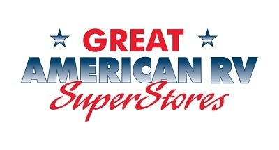 A picture of the Great American RV SuperStores logo