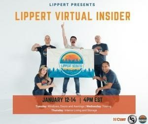 A picture of the Lippert Scouts Virtual Insider event promo