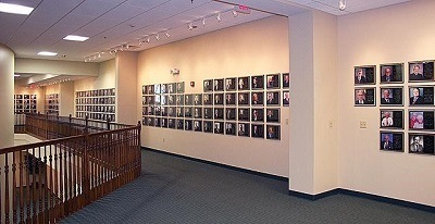 A picture of the RV/MH Hall of Fame inside