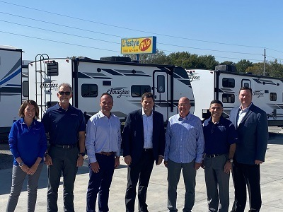 A picture from RV Retailer's acquisition of Lifestyle RV in Kansas City