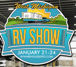 A picture of the 2021 West Michigan RV show hosted by Terry Town RV