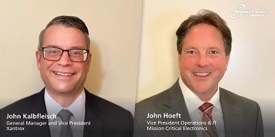 A picture of John Kalbfleisch and John Hoeft