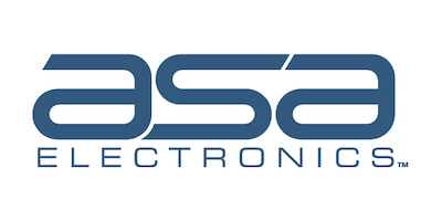 A picture of ASA Electronics' logo