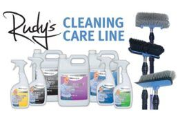 A picture of Dicor's cleaning care line