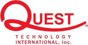 A picture of the Quest Technology International logo