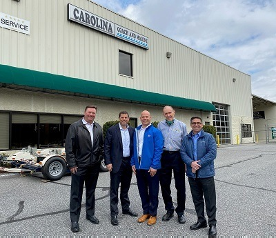 A picture of the RV Retailer and Carolina Coach acquisition