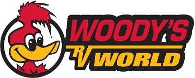 A picture of Woody's RV World logo