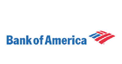 A picture of the logo of Bank of America