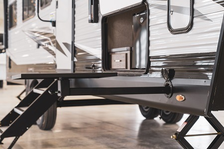 A picture of the Jayco JayPort system