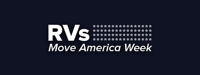 A picture of RVIA's RVs Move America Week logo