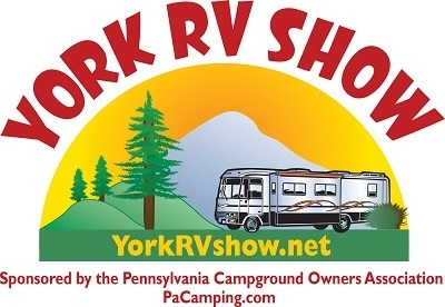 A picture of the York RV show logo