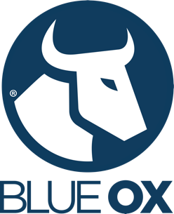 A picture of the Blue Ox logo