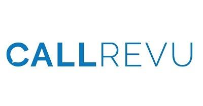 A picture of the CallRevu logo