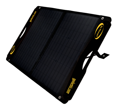 A picture of Go Power's DuraLite portable solar power kit