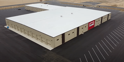 A picture of the General RV Inspection facility concept