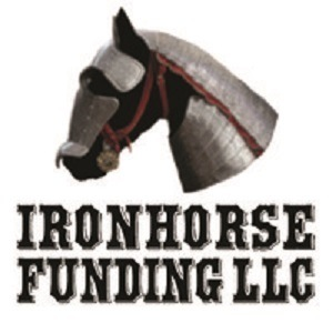 A picture of the Ironhorse Funding logo