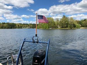 A picture of the Lippert KW Series Flagpole Mount