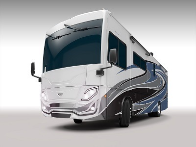 A picture of Rev Recreation Group's Fleetwood RV Frontier model