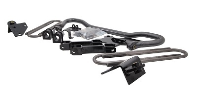 A picture of the Hellwig rear sway bar for Ford F53 motorhome chassis