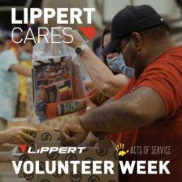 A picture of Lippert's Volunteer Week