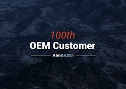A picture of the Rollick/Aimbase 100th customer promo