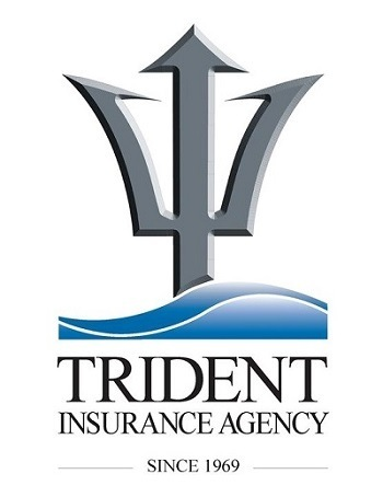A picture of the Trident Insurance Agency logo